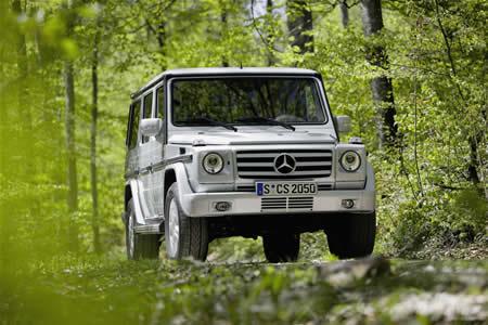 mercedes-classe-g Mercedes-Benz classe G: trent'anni di storia