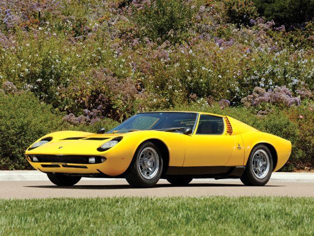1966_lamborghini_miura Modelli Lamborghini: le auto prodotte dalla nascita ad oggi