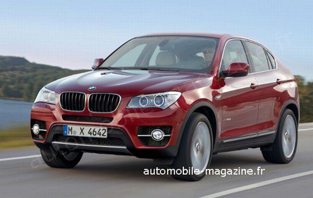 ricostruzione_grafica_bmw_x4_01 BMW X4: la piccola X6 che deriverà dalla nuova X3