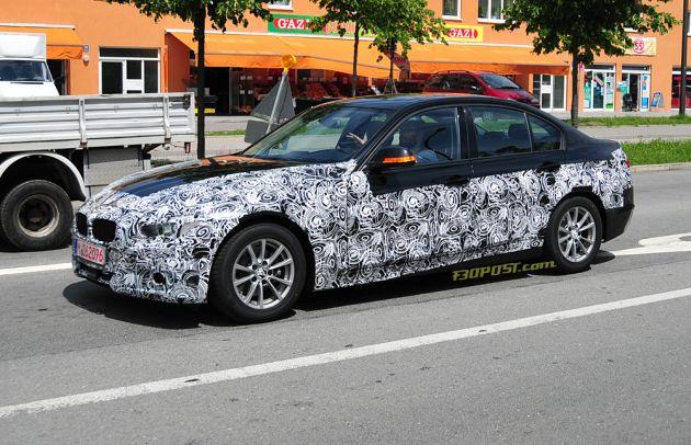 nuova_bmw_serie_3_foto_spia BMW: le inedite Active Hybrid 3 e CAT