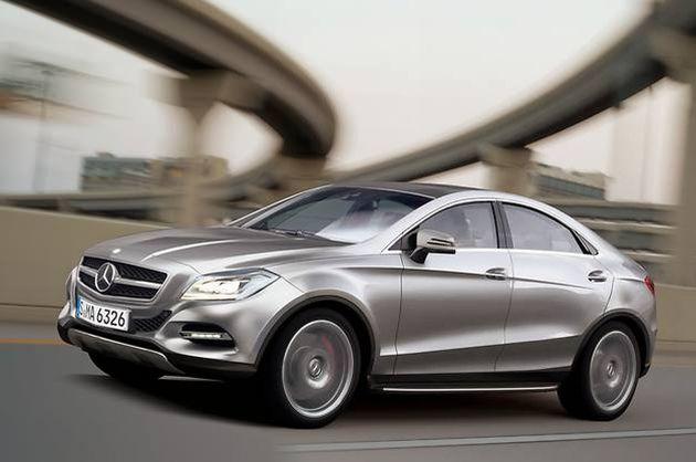mercedes_mlc_render Mercedes MLC: il render dell'anti BMW X6