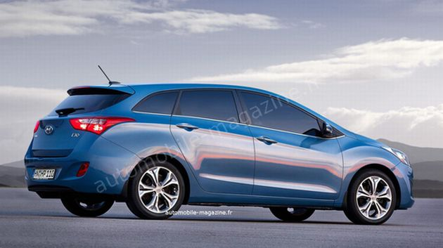nuova_hyundai_i30_wagon_render Nuova Hyundai i30: in arrivo i modelli Wagon e Hybrid