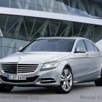Mercedes Classe S: il render della prossima generazione
