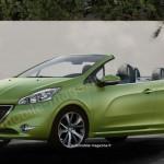 Peugeot: il render della 208 CC