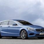 Mercedes: render dei modelli CLS Shooting Break e nuova Classe S