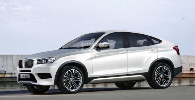 bmw_x4_render BMW: nuovo render della X4