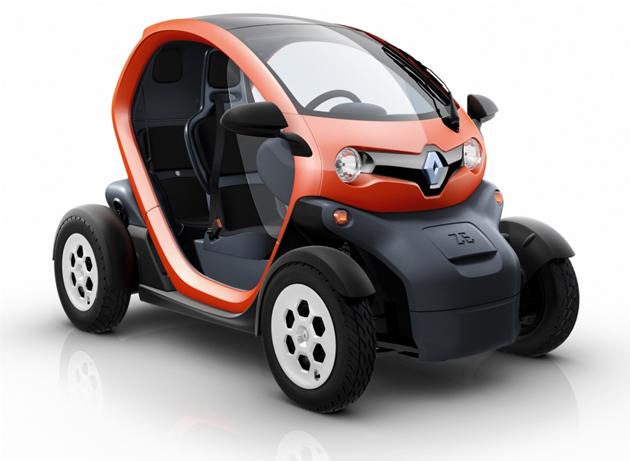 renault-twizy-piccola-elettrica-auto Renault Twizy, piccola auto elettrica francese