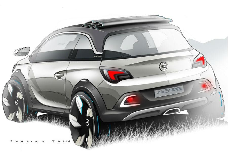 Opel-Adam-Rocks Opel Adam Rocks pronta a inaugurare un nuovo segmento di mercato