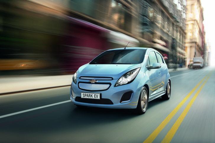 chevrolet-spark-ev-elettrica-salone-di-ginevra-2013 Arriva in Europa la Chevrolet Spark Ev