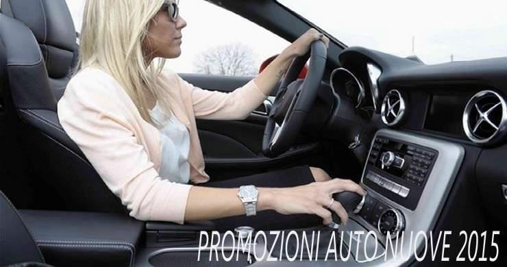 Promozioni auto nuove inverno 2015