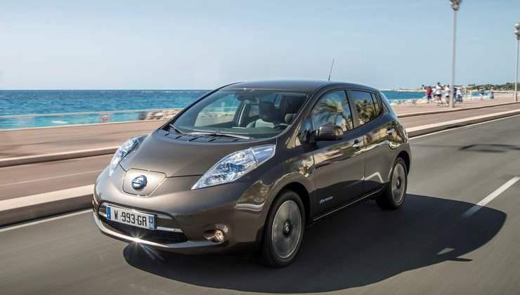 Auto elettriche: aumenta l'autonomia di Nissan Leaf 2016