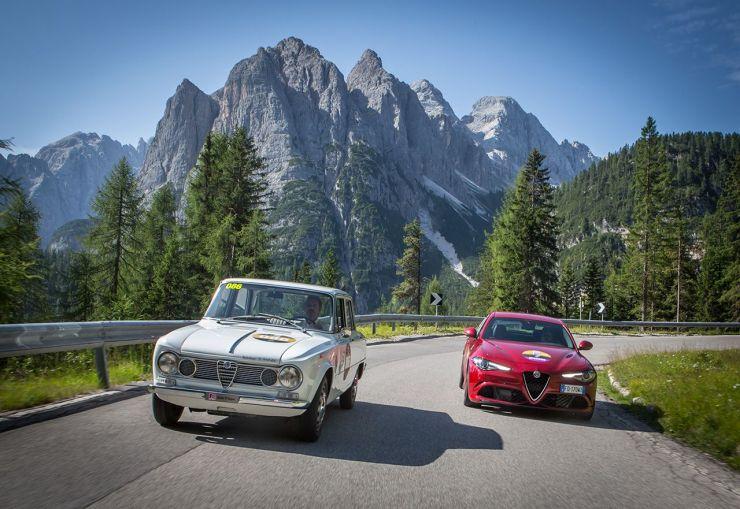 Storia dell'Alfa Romeo Giulia dalla prima versione del 1963 al 2016, motori, versioni e caratteristiche tecniche