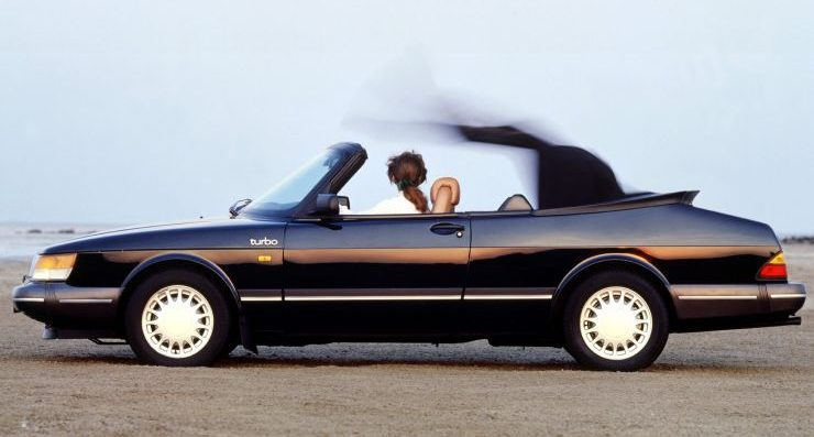 saab 900 turbo convertibile