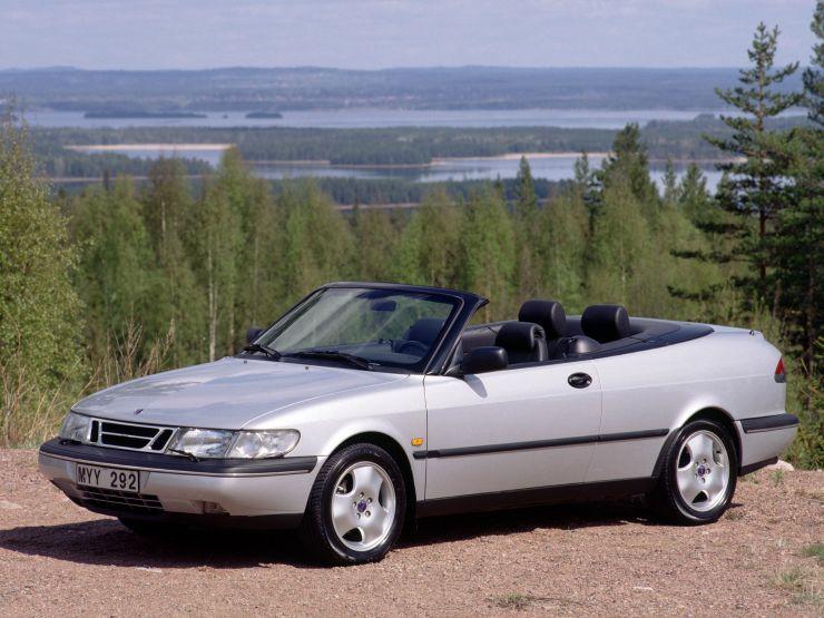 saab 900 se turbo cabriolet 1993