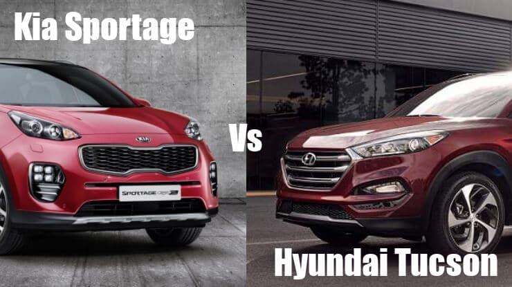 Confronto Hyundai Tucson e Kia Sportage