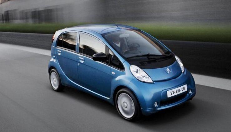 Peugeot-iOn-elettrica