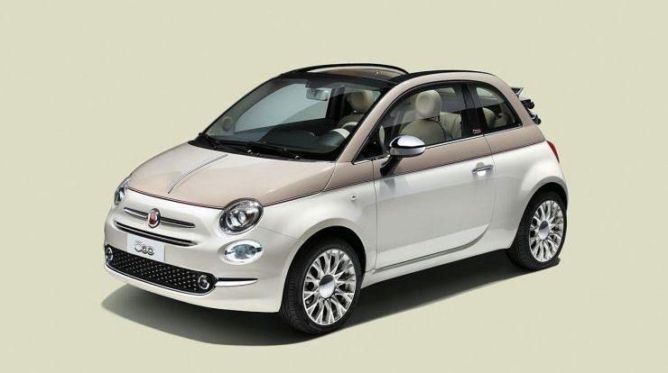 Fiat 500 Forever Young in Edizione Limitata per il Sessantesimo Anniversario