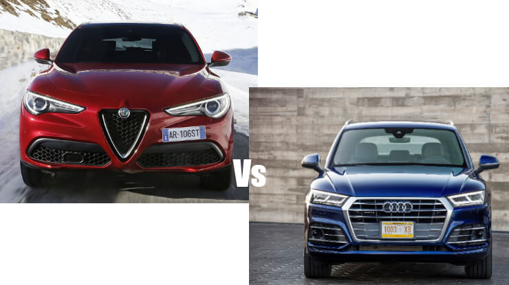 Confronto Alfa Romeo Stelvio Vs Audi Q5