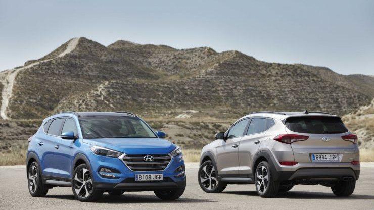 Confronto Hyundai Tucson Vs Nissan Qashqai