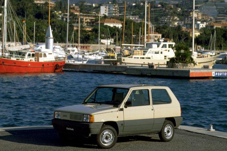 Storia della Fiat Panda dal 1980 al 2016, principali versioni dell'utilitaria